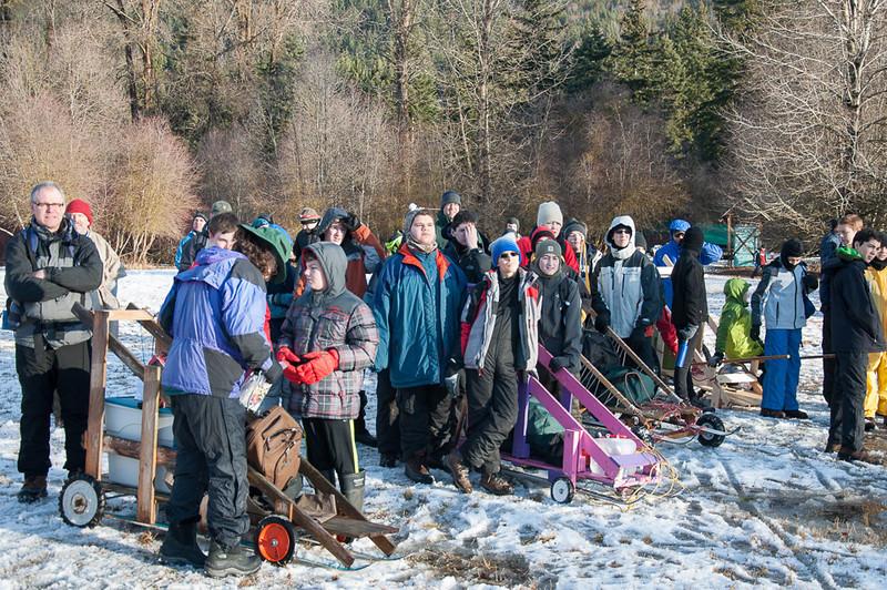Alpine District Klondike Derby January 2014