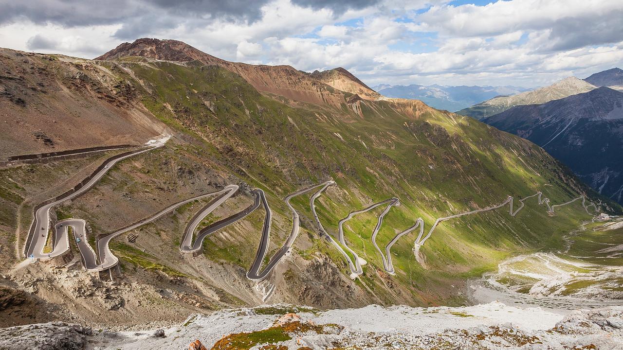 Stelvio Pass, Alps, Italy