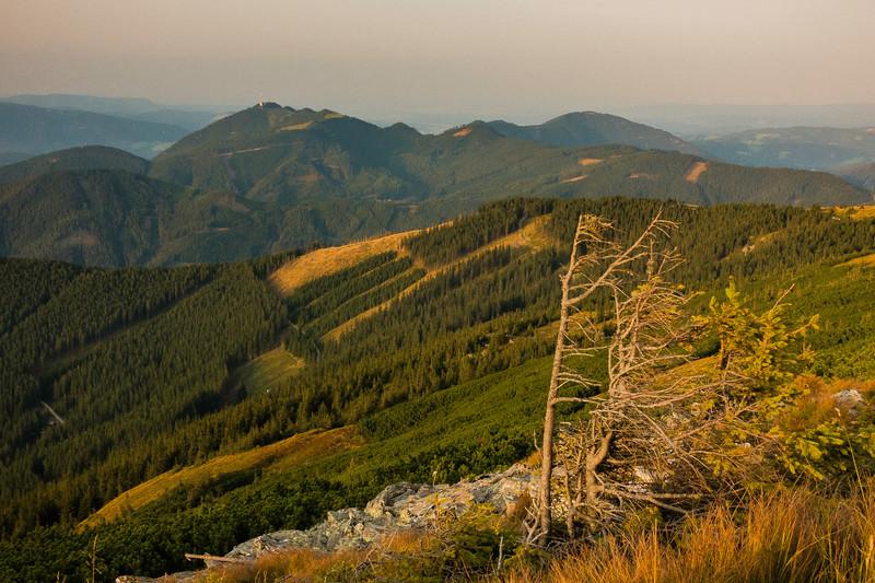 Stuhleck View, Alps, Austria