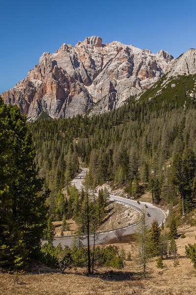 Falzarego Pass, Alps, Italy