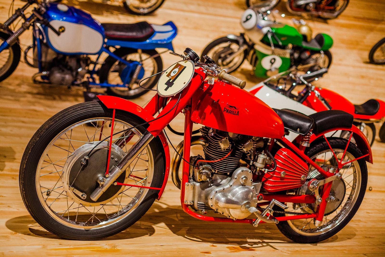 Parilla, Timmelsjoch Motorcycle Museum, Austria