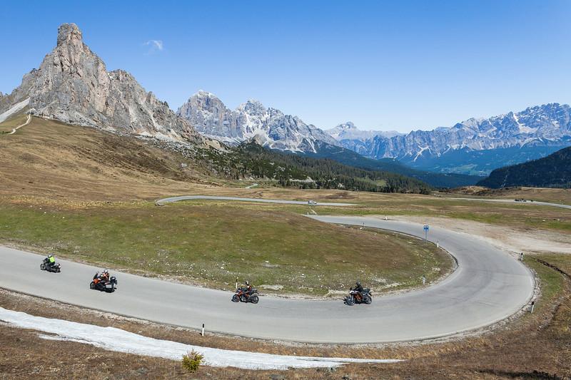 Passo di Giau, Alps, Italy