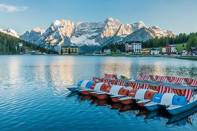 Lago di Misurina, Alps, Italy