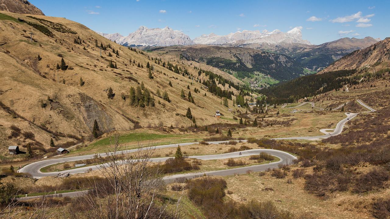 Passo Pordoi, Alps, Italy