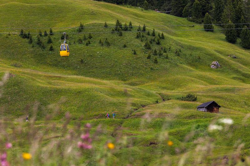Passo Gardena, Alps, Italy