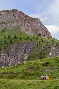 Beekeeper, Alps, Italy