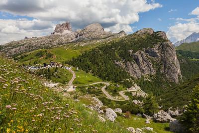 Passo Falzarego, Alps, Italy