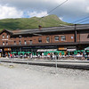 The train station at Kleine Scheidegg.