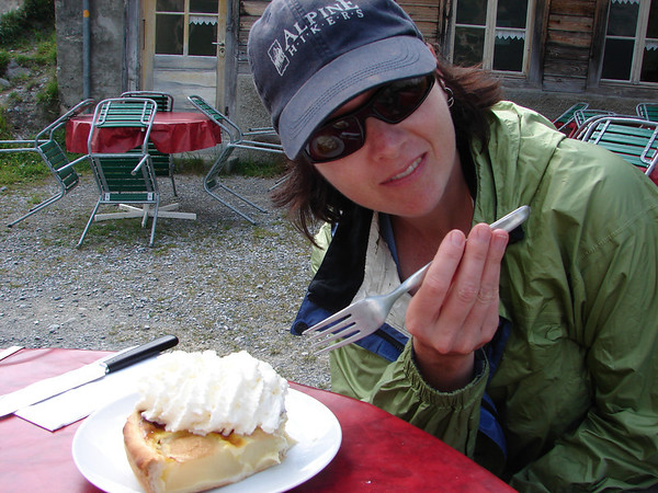 Have I mentioned the pear torte at Obersteinberg?