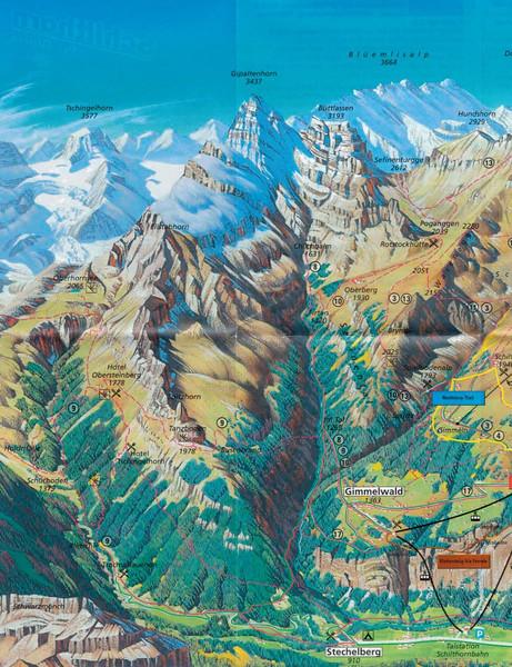 Stechelberg to Obersteinberg