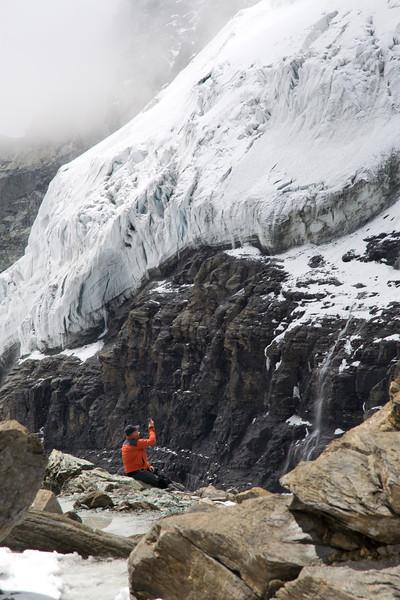 A hiking break along the Horli ridge