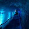 "Walking through the tunnel built into the Mer de Glace glacier is always a ""cool"" experience."