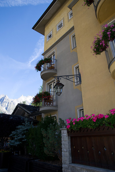 The Hotel Bouton d'Or is a friendly stop in Courmayeur with a lavish homemade breakfast.