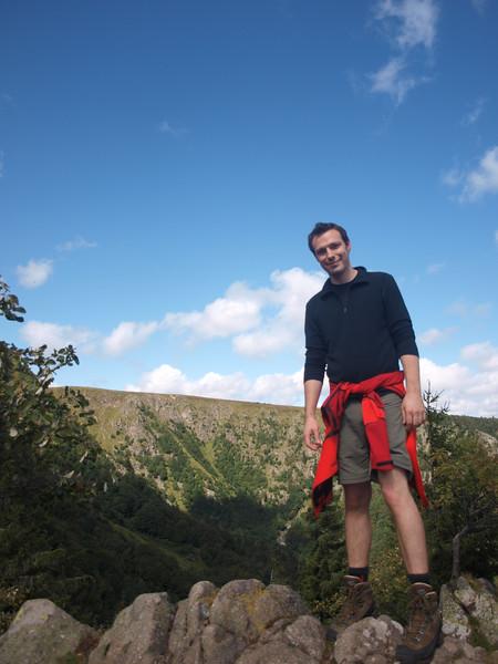 """""""Élise, fais la photo. C'est pour mes potes au Luxembourg : jamais ils ne croiront que j'ai été aussi haut !"""" [Photo Élise, évidemment !]"""