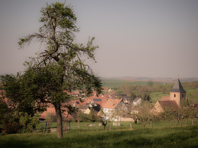 Le village de Rangen, près de Wasselonne