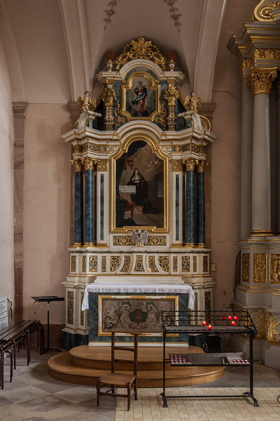 Ebersmunster Abbey Church Chapel Altar