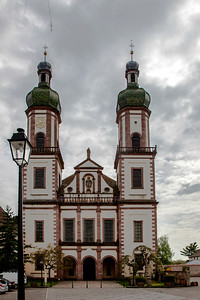 Ebersmunster Abbey Church Facade