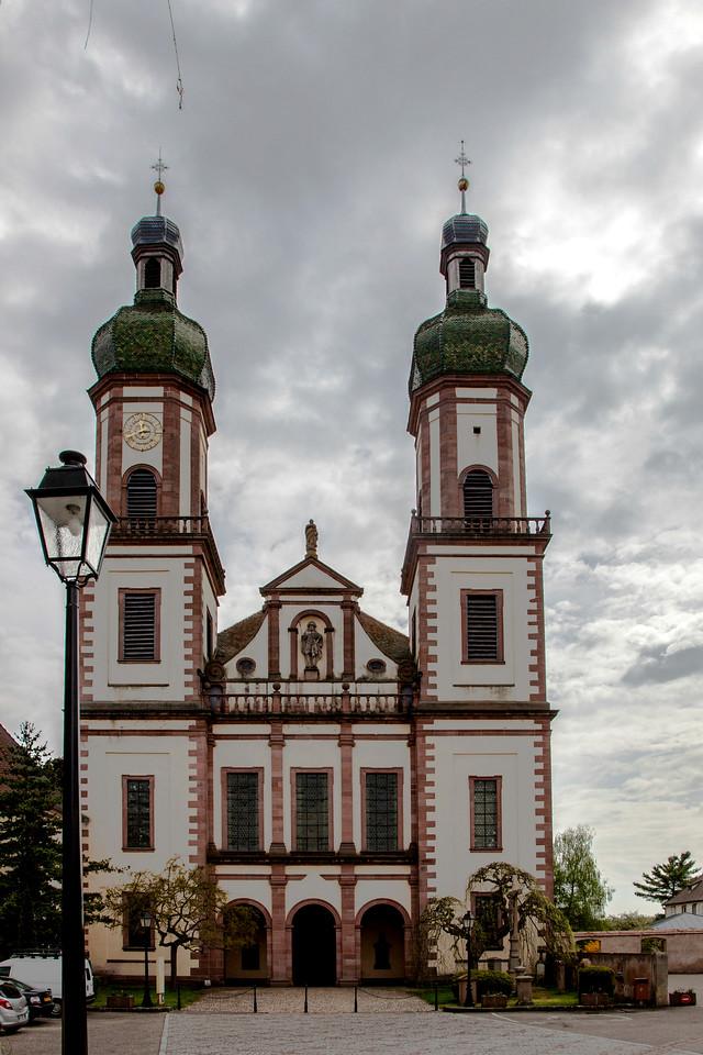 Ebersmunster Abbey Church Facade