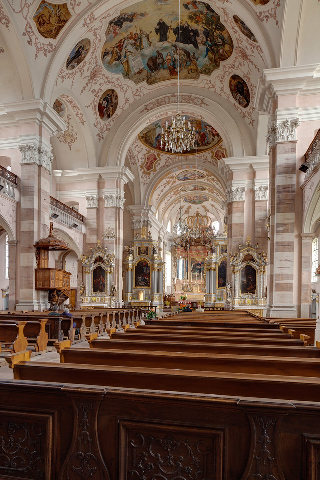Ebersmunster Abbey Church Nave