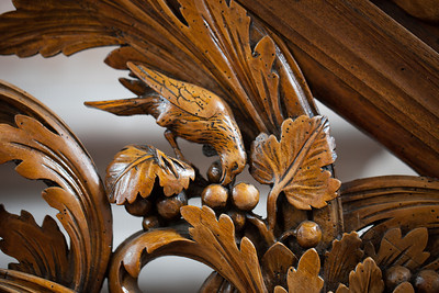 Ebersmunster Abbey Pulpit Bird