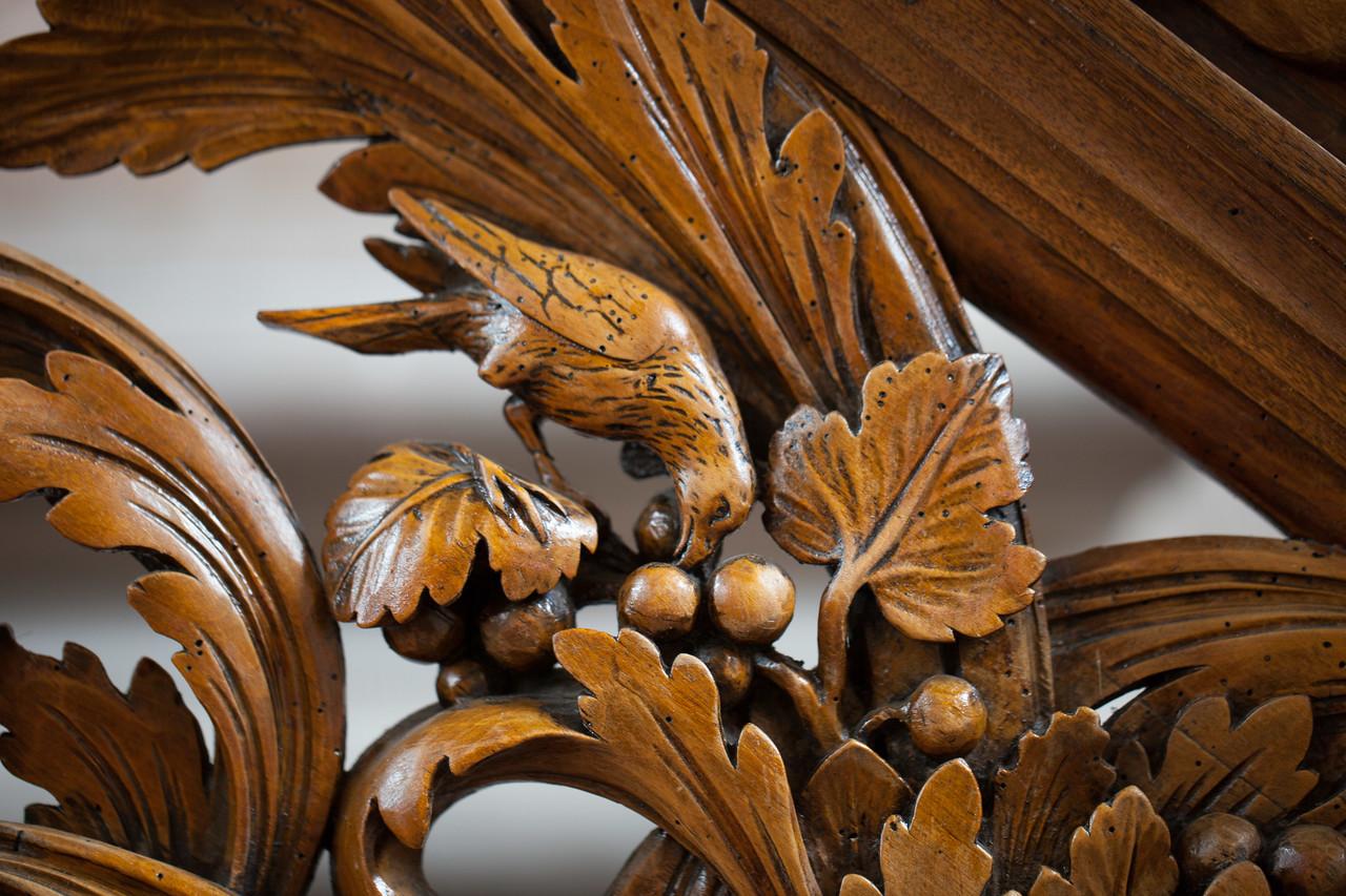 Ebersmunster Abbey Pulpit Bird