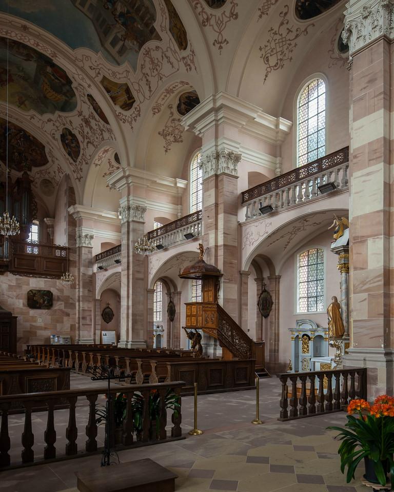 Ebersmunster Abbey Church Nave Bays