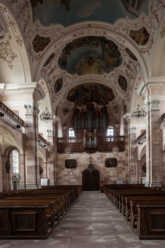 Ebersmunster Nave and Organ Loft