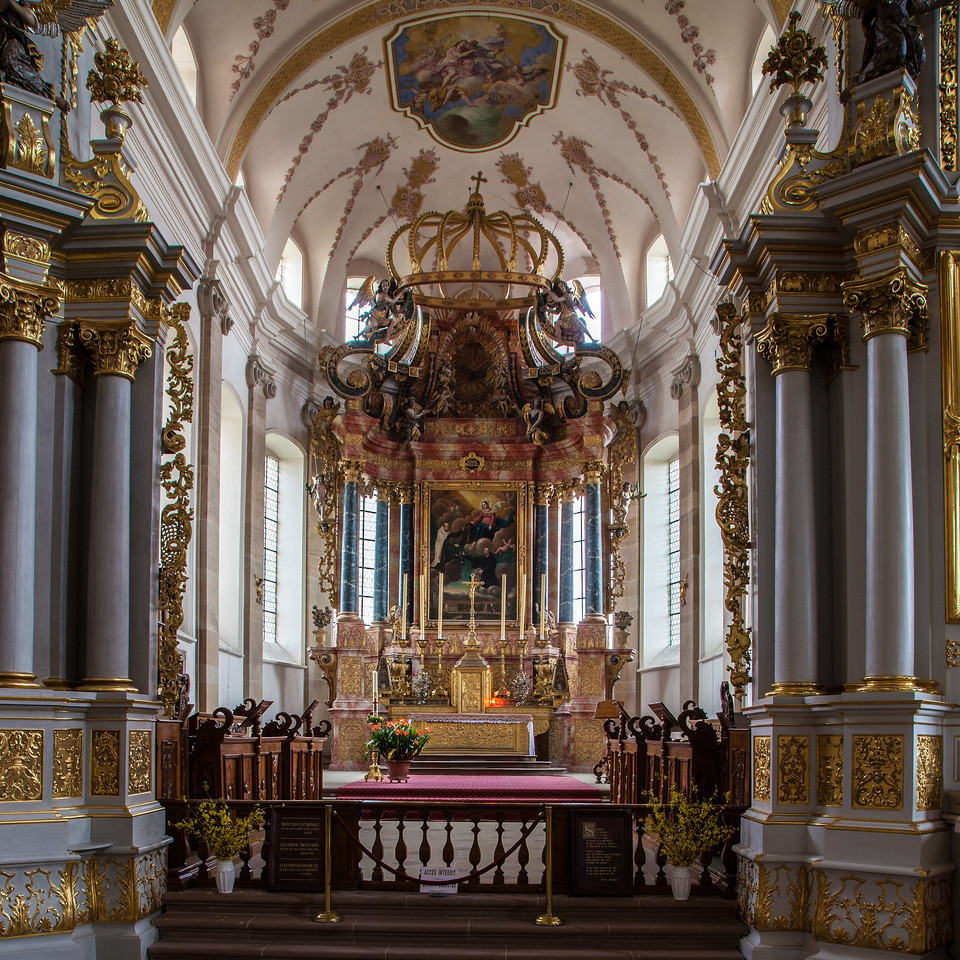 Ebersmunster Abbey Church Baldacchino