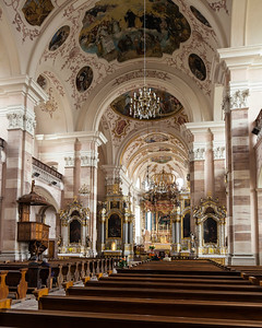 Ebersmunster Abbey Nave