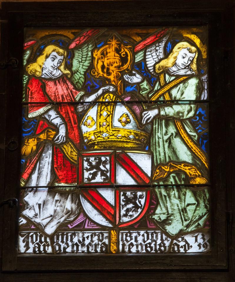 Koenigsberg Castle Stained Glass Window