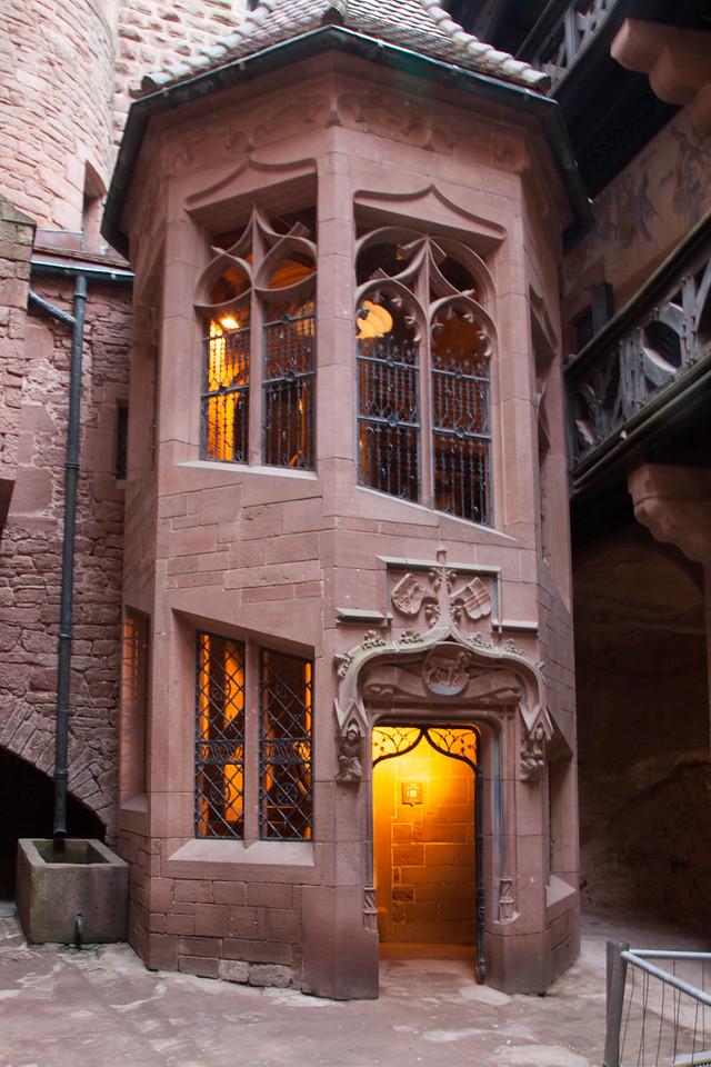 Koengsberg Castle Staircase