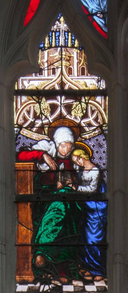 Saint-Nicolas-du-Port - Sainte-Anne Teaching the Virgin to Read