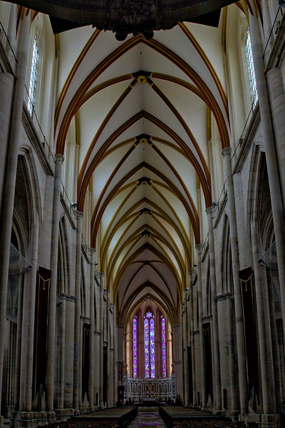 Toul, Saint Stephen Cathedral Nave and Choir