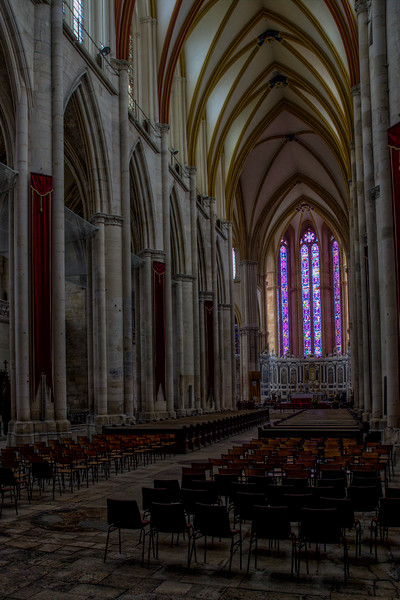 Toul Cathedral Nave and Choir