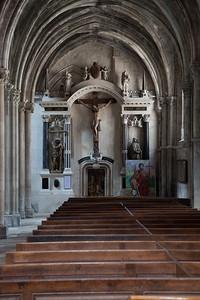 Chaumont Jean Baptiste Church Aisle Altar