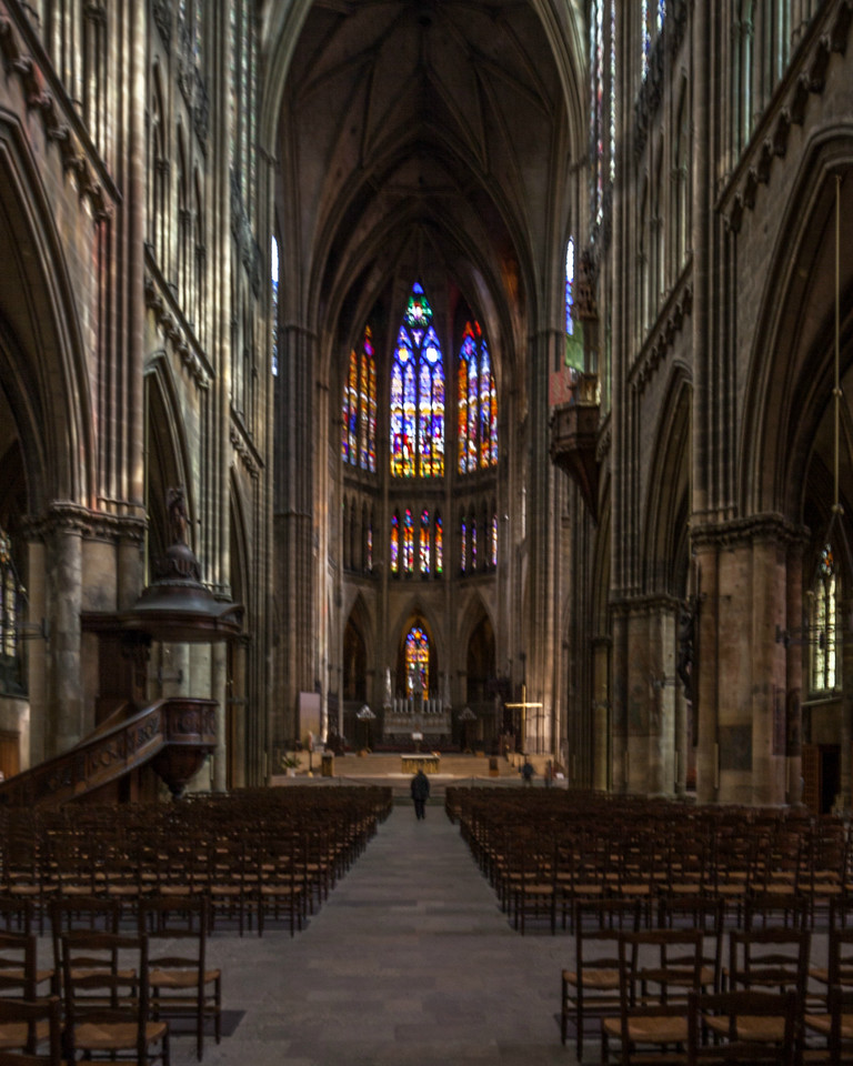 Metz Cathedral Nave and Choir