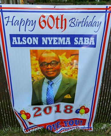 Alson Saba's 60th Birthday