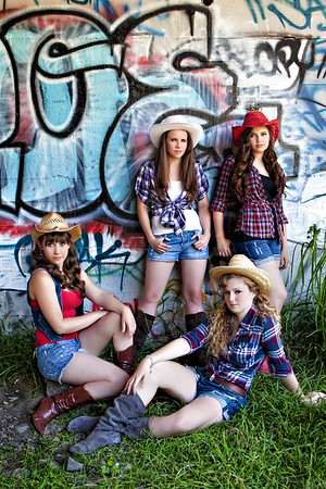 OCHSA 4 - Taylor, Nicole, Tessa and Brianna