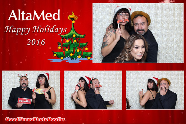 Holiday Party 2016 Strips