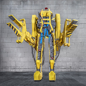 """My version of a reproduction of the """"forklift exoskeleton"""" seen in fAlien 2."""