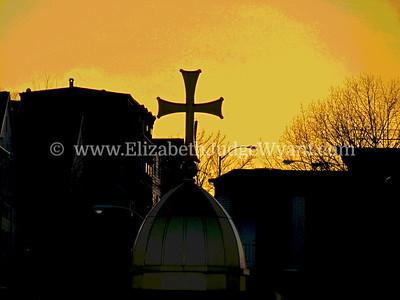 Sunset,  Easton, PA 3/9/2013