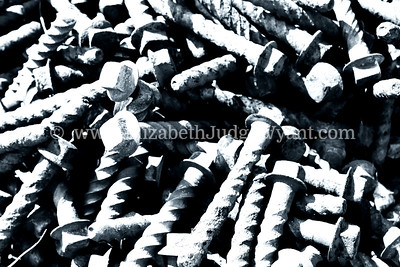Railroad screws. 3/20/2013