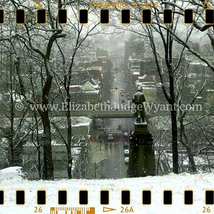 View from Lafayette College, Easton, PA