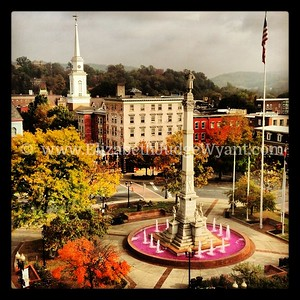 Breast Cancer Awareness Fountain, Easton, PA