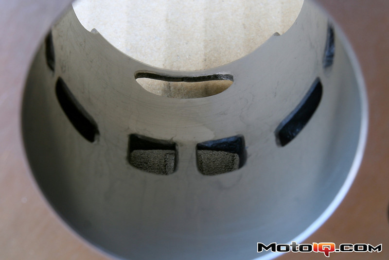 AF1 Micah Shoemaker porting of Aprilia SR50 big bore cylinder