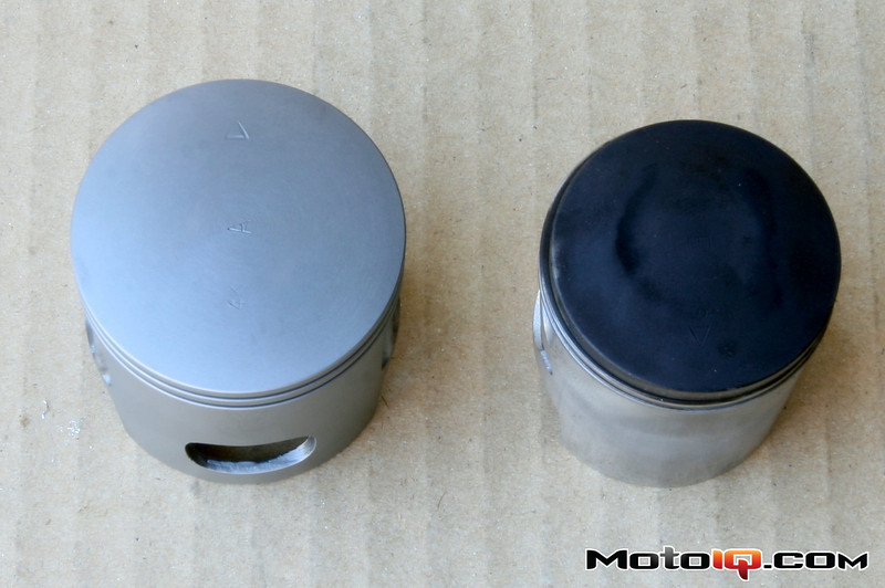 Malossi big bore piston for aprilia SR50