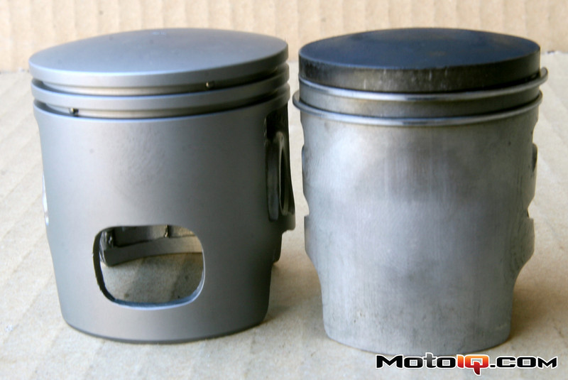 Aprilia SR50 Malossi big bore piston