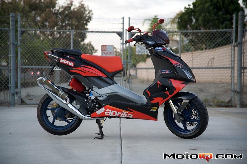 motoiq project aprilia sr50