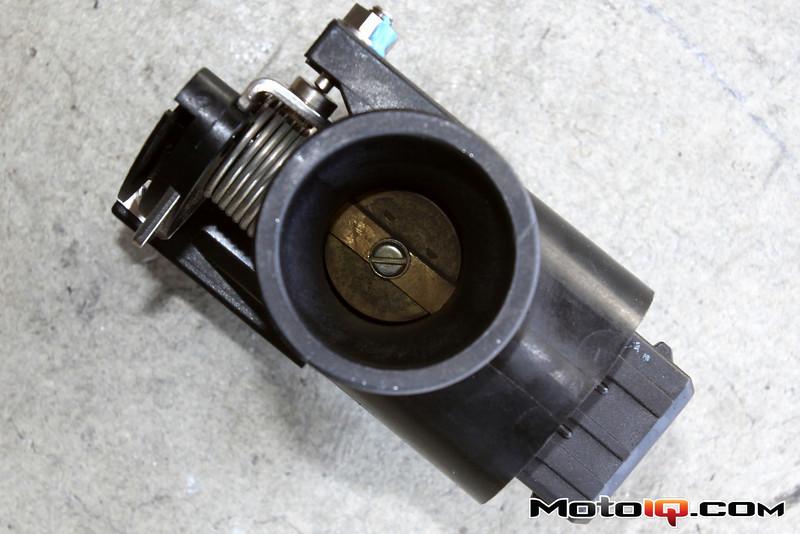Aprilia SR50 throttle body