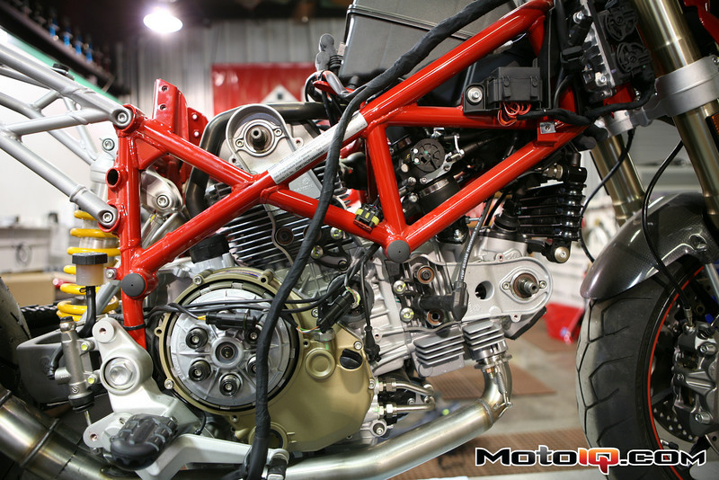 AMS Ducati cam install